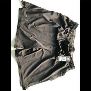 Under Armour black athletic shorts